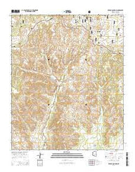 Red Top Mountain Arizona Current topographic map, 1:24000 scale, 7.5 X 7.5 Minute, Year 2014