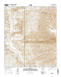 Redington Arizona Current topographic map, 1:24000 scale, 7.5 X 7.5 Minute, Year 2014