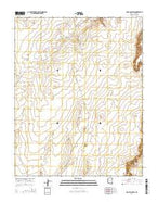 Rock Point SW Arizona Current topographic map, 1:24000 scale, 7.5 X 7.5 Minute, Year 2014 from Arizona Map Store