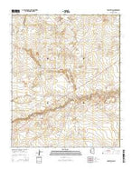 Rock Station Arizona Current topographic map, 1:24000 scale, 7.5 X 7.5 Minute, Year 2014 from Arizona Map Store
