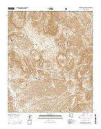 Rockinstraw Mountain Arizona Current topographic map, 1:24000 scale, 7.5 X 7.5 Minute, Year 2014 from Arizona Map Store