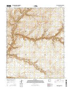 Rocky Ridge NW Arizona Current topographic map, 1:24000 scale, 7.5 X 7.5 Minute, Year 2014 from Arizona Map Store