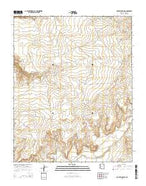 Rocky Ridge SW Arizona Current topographic map, 1:24000 scale, 7.5 X 7.5 Minute, Year 2014 from Arizona Map Store