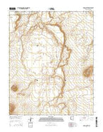 Roden Crater Arizona Current topographic map, 1:24000 scale, 7.5 X 7.5 Minute, Year 2014 from Arizona Map Store