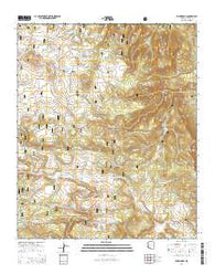 Rudd Knoll Arizona Current topographic map, 1:24000 scale, 7.5 X 7.5 Minute, Year 2014