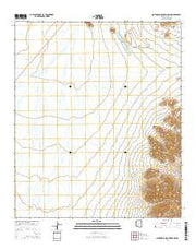 Santa Rosa Mountains NW Arizona Current topographic map, 1:24000 scale, 7.5 X 7.5 Minute, Year 2014 from Arizona Maps Store