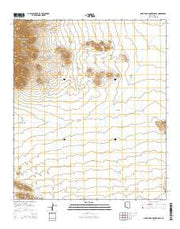 Santa Rosa Mountains SE Arizona Current topographic map, 1:24000 scale, 7.5 X 7.5 Minute, Year 2014 from Arizona Maps Store