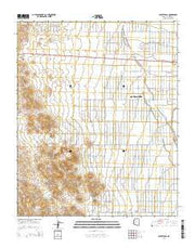 Secret Pass Arizona Current topographic map, 1:24000 scale, 7.5 X 7.5 Minute, Year 2014 from Arizona Maps Store