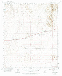 Sentinel Arizona Historical topographic map, 1:62500 scale, 15 X 15 Minute, Year 1949