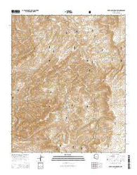 Sheep Basin Mountain Arizona Current topographic map, 1:24000 scale, 7.5 X 7.5 Minute, Year 2014