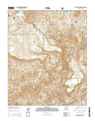 Sheridan Mountain Arizona Current topographic map, 1:24000 scale, 7.5 X 7.5 Minute, Year 2014