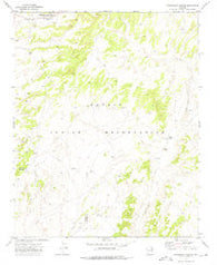 Steamboat Canyon Arizona Historical topographic map, 1:24000 scale, 7.5 X 7.5 Minute, Year 1972