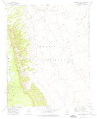 Steamboat Rock NE Arizona Historical topographic map, 1:24000 scale, 7.5 X 7.5 Minute, Year 1972
