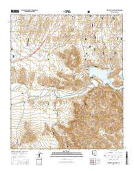 Stewart Mountain Arizona Current topographic map, 1:24000 scale, 7.5 X 7.5 Minute, Year 2014