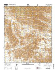 Stockton Pass Arizona Current topographic map, 1:24000 scale, 7.5 X 7.5 Minute, Year 2014