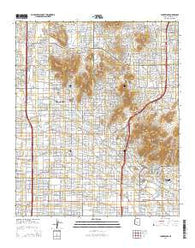 Sunnyslope Arizona Current topographic map, 1:24000 scale, 7.5 X 7.5 Minute, Year 2014