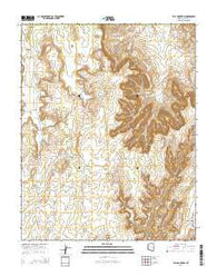 Tall Mountain Arizona Current topographic map, 1:24000 scale, 7.5 X 7.5 Minute, Year 2014