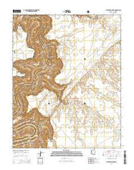 Tatahatso Point Arizona Current topographic map, 1:24000 scale, 7.5 X 7.5 Minute, Year 2014