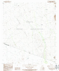 Tecolote Ranch Arizona Historical topographic map, 1:24000 scale, 7.5 X 7.5 Minute, Year 1988