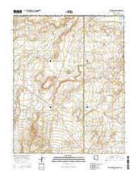 Teec Nos Pos Arizona Current topographic map, 1:24000 scale, 7.5 X 7.5 Minute, Year 2014