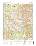 Telephone Hill Arizona Current topographic map, 1:24000 scale, 7.5 X 7.5 Minute, Year 2014 from Arizona Map Store
