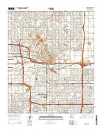 Tempe Arizona Current topographic map, 1:24000 scale, 7.5 X 7.5 Minute, Year 2014 from Arizona Map Store