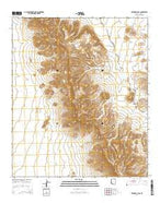 Temporal Pass Arizona Current topographic map, 1:24000 scale, 7.5 X 7.5 Minute, Year 2014 from Arizona Map Store