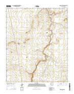 Tenmile Cedars Arizona Current topographic map, 1:24000 scale, 7.5 X 7.5 Minute, Year 2014 from Arizona Map Store