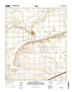 Texas Hill Arizona Current topographic map, 1:24000 scale, 7.5 X 7.5 Minute, Year 2014 from Arizona Map Store