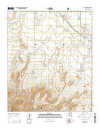 Thatcher Arizona Current topographic map, 1:24000 scale, 7.5 X 7.5 Minute, Year 2014 from Arizona Map Store