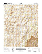 The Big Knoll Arizona Current topographic map, 1:24000 scale, 7.5 X 7.5 Minute, Year 2014 from Arizona Map Store