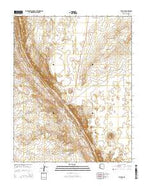 The Gap Arizona Current topographic map, 1:24000 scale, 7.5 X 7.5 Minute, Year 2014 from Arizona Map Store
