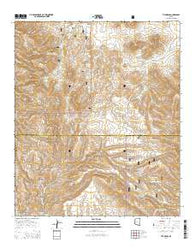 The Mesas Arizona Current topographic map, 1:24000 scale, 7.5 X 7.5 Minute, Year 2014