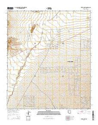Three Points Arizona Current topographic map, 1:24000 scale, 7.5 X 7.5 Minute, Year 2014