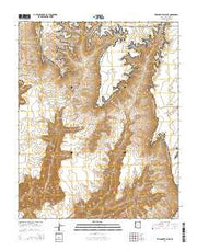 Tincanebitts Point Arizona Current topographic map, 1:24000 scale, 7.5 X 7.5 Minute, Year 2014 from Arizona Maps Store