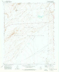 Toh De Niihe Arizona Historical topographic map, 1:24000 scale, 7.5 X 7.5 Minute, Year 1972