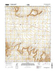 Toh Atin Mesa East Arizona Current topographic map, 1:24000 scale, 7.5 X 7.5 Minute, Year 2014 from Arizona Maps Store