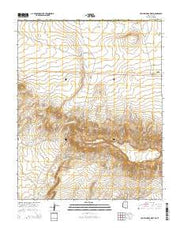 Toh Atin Mesa West Arizona Current topographic map, 1:24000 scale, 7.5 X 7.5 Minute, Year 2014 from Arizona Maps Store