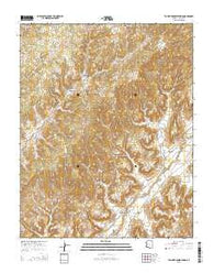 Toh Ne Zhonnie Spring Arizona Current topographic map, 1:24000 scale, 7.5 X 7.5 Minute, Year 2014