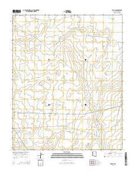 Tolani Arizona Current topographic map, 1:24000 scale, 7.5 X 7.5 Minute, Year 2014