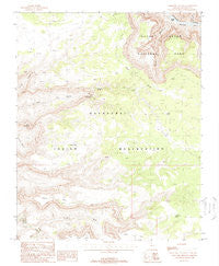 Topocoba Hilltop Arizona Historical topographic map, 1:24000 scale, 7.5 X 7.5 Minute, Year 1988