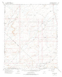 Tovar Mesa Arizona Historical topographic map, 1:62500 scale, 15 X 15 Minute, Year 1966