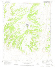Toyei School Arizona Historical topographic map, 1:24000 scale, 7.5 X 7.5 Minute, Year 1972