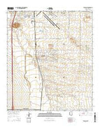Tucson SW Arizona Current topographic map, 1:24000 scale, 7.5 X 7.5 Minute, Year 2014 from Arizona Map Store