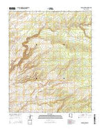 Tudecoz Spring Arizona Current topographic map, 1:24000 scale, 7.5 X 7.5 Minute, Year 2014 from Arizona Map Store