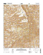 Tule Mesa Arizona Current topographic map, 1:24000 scale, 7.5 X 7.5 Minute, Year 2014 from Arizona Map Store