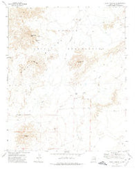 Turkey Track Butte Arizona Historical topographic map, 1:24000 scale, 7.5 X 7.5 Minute, Year 1972