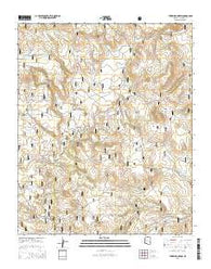 Turkey Mountain Arizona Current topographic map, 1:24000 scale, 7.5 X 7.5 Minute, Year 2014