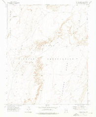 Ventana Mesa Arizona Historical topographic map, 1:24000 scale, 7.5 X 7.5 Minute, Year 1972