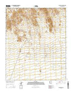 Vulture Mine Arizona Current topographic map, 1:24000 scale, 7.5 X 7.5 Minute, Year 2014 from Arizona Map Store